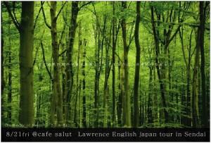 8/21@Salut(仙台) Lawrence English Japan tour
